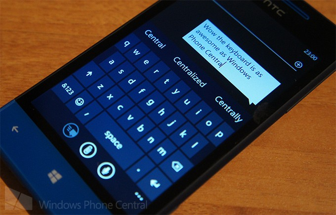 Keyboard on WP8
