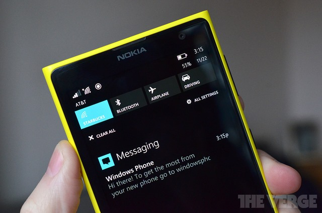 Notification Center for Windows Phone 8.1