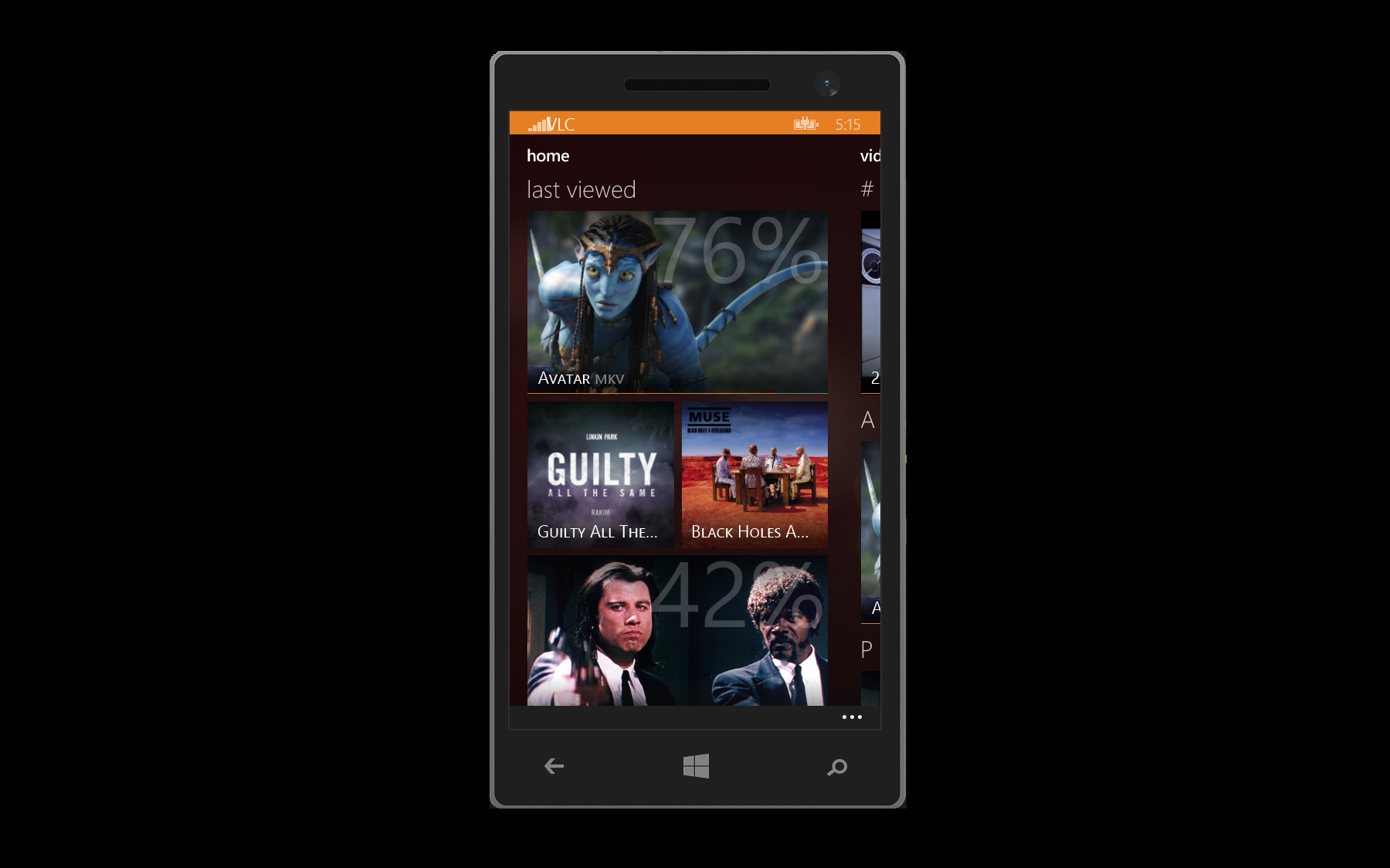 VLC для Windows Phone
