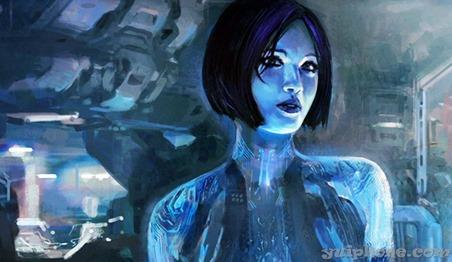 Cortana из Halo