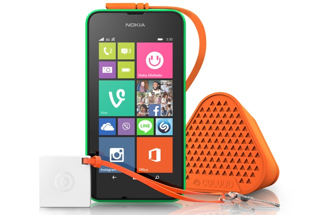 Lumia 530 With Coloud Bang Treasure Tag