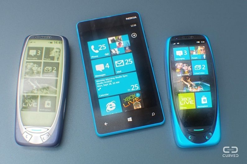 Nokia 3310 Windows Phone based
