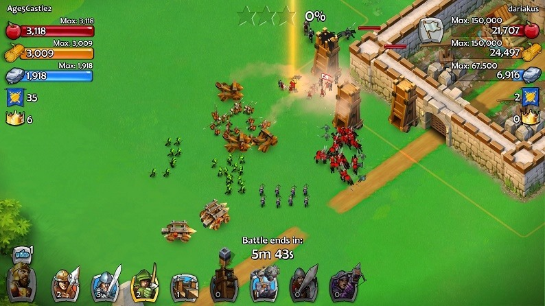 Age of Empires Castle Siege