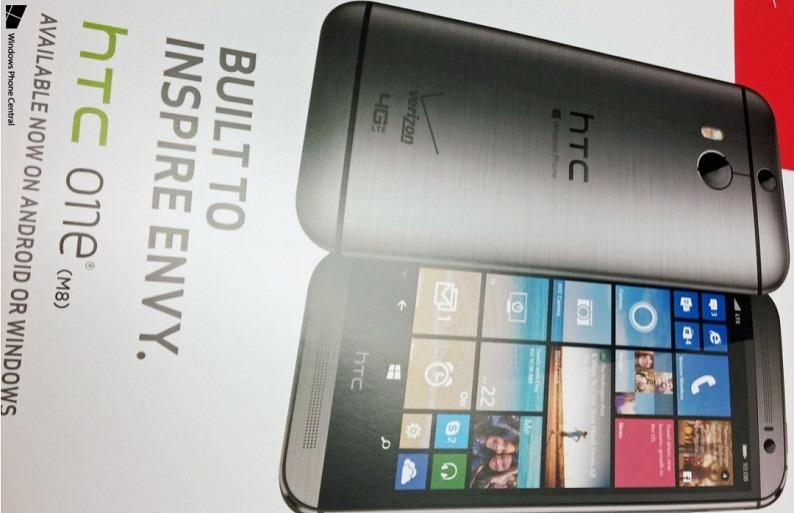 HTC One M8 с Windows Phone