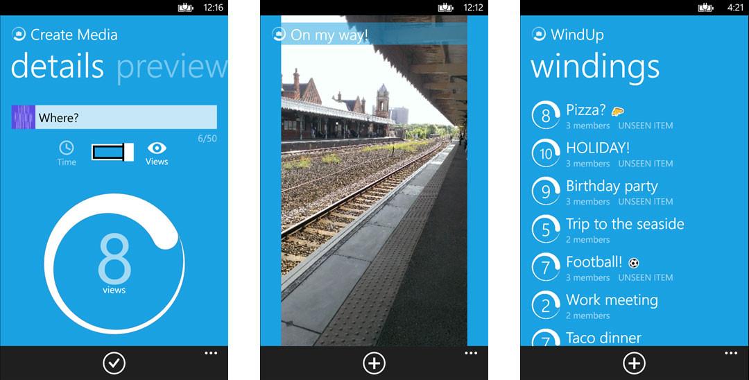 WindUp app