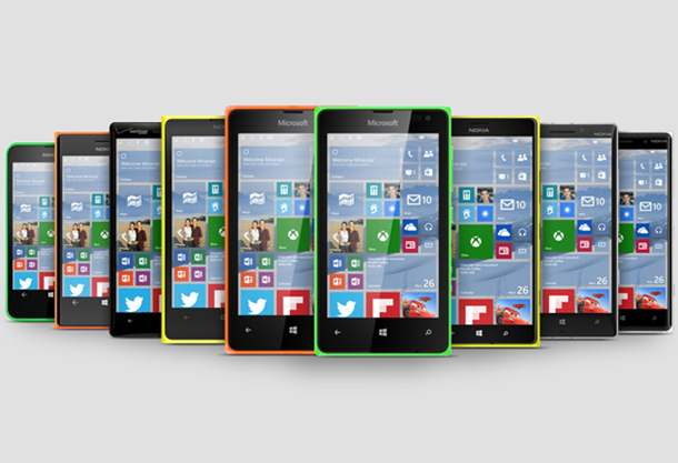 Lumia with Windows 10