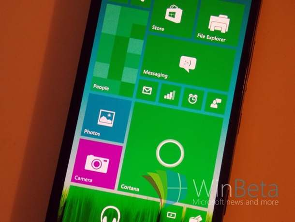 Windows 10 for smartphone