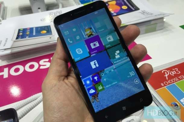 Alcatel One Touch Pixi 3 Windows 10 TP