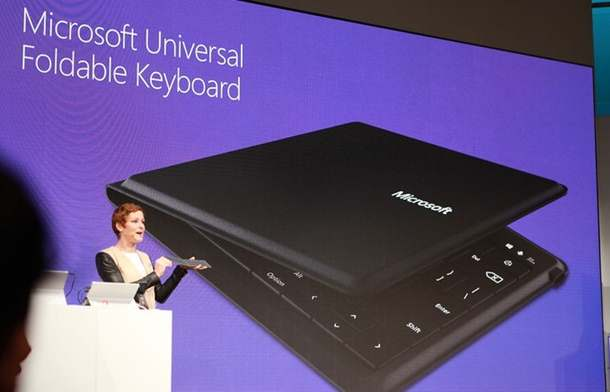 Microsoft universal foldable Bluetooth keyboard