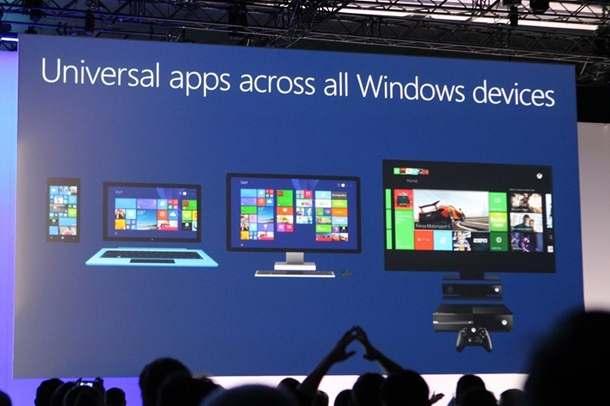 Universal apps Build 2014