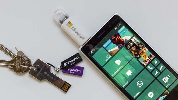 Windows 10 Mobile USB on the go OTG