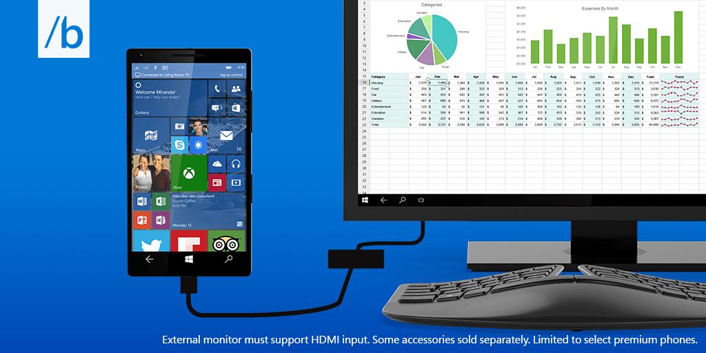 Continuum For Phones Windows 10