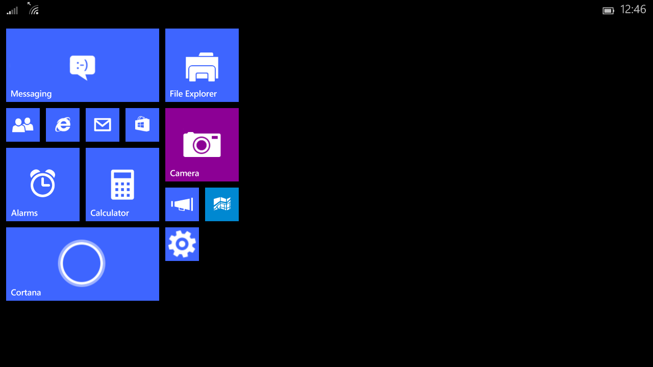 Windows 10 Mobile for tablet