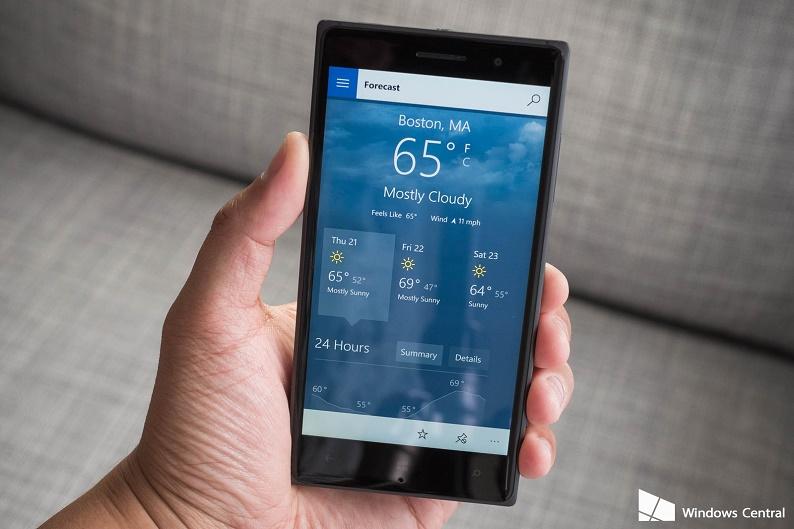 msn-weather-windows-10-lumia-830