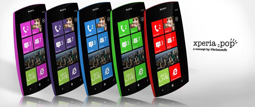 Sony Xperia Pop Concept