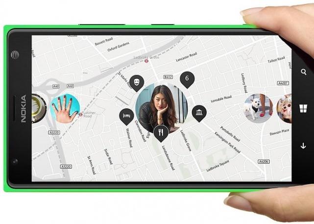 Green Nokia Lumia 1520