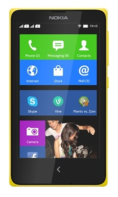 Nokia X Yellow