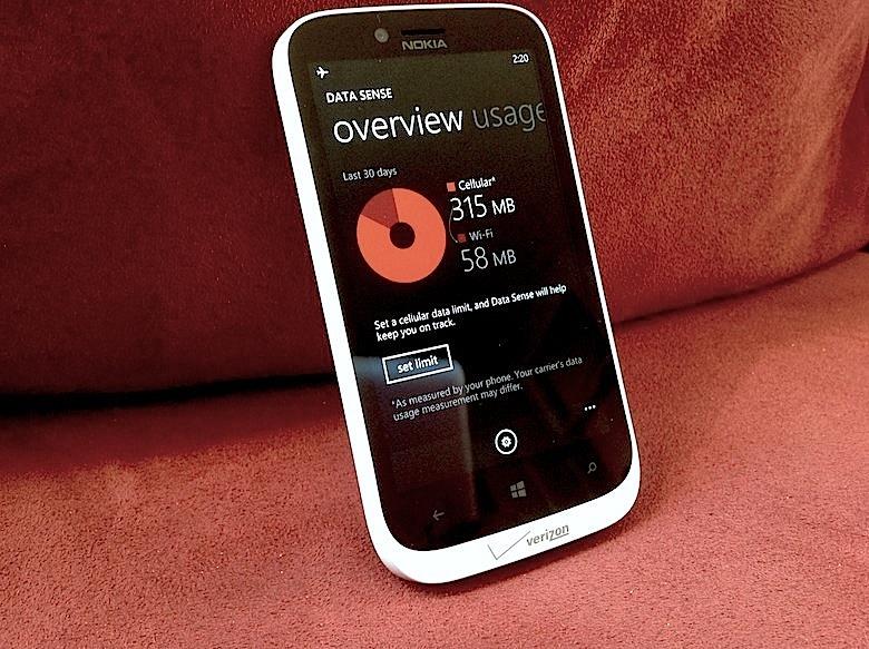 Data Sense on Windows Phone