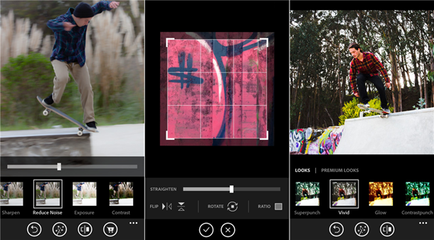 Photoshop Express для Windows Phone 8
