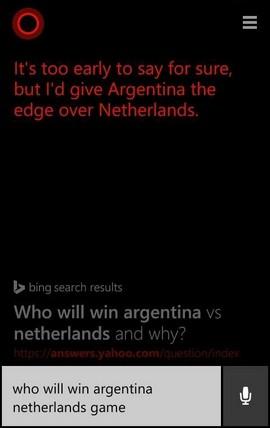 cortana-argentina