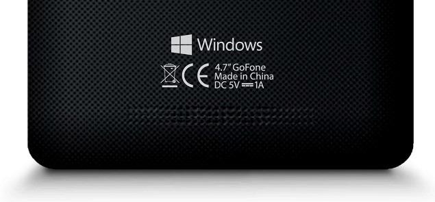 GoFone-GF47W-Windows-Phone-8.1-Smartphone-Rear