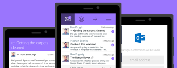 Maestro - mail experience for Windows Phone 8.1