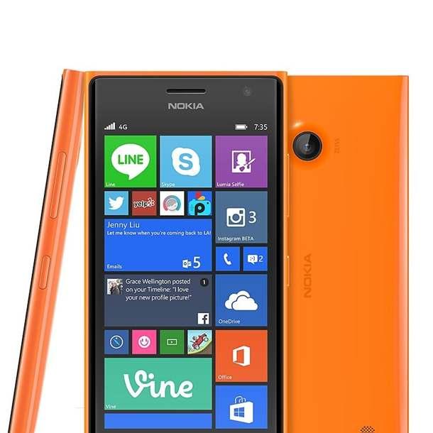 Nokia Lumia 735 Front