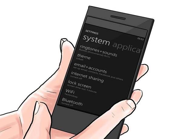Windows Phone 8 Device Settings