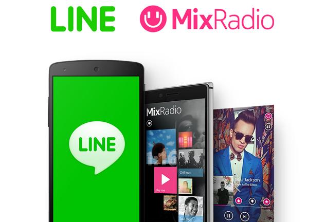 LINE and MixRadio