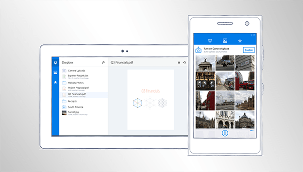 Official Dropbox App For Windows Phone
