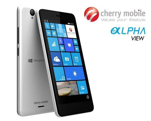 Cherry Mobile Alpha View