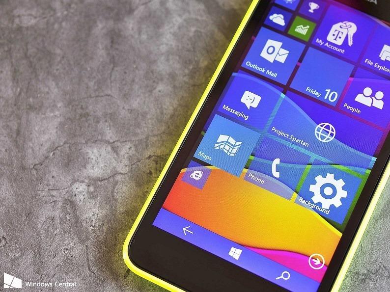Windows 10 10051 Spartan Tiles Tour