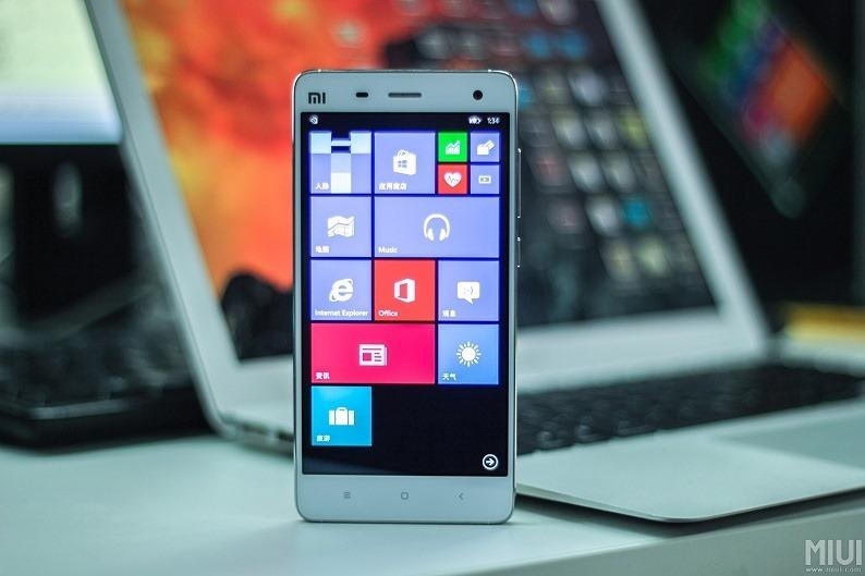 Windows 10  Xiaomi Mi 4