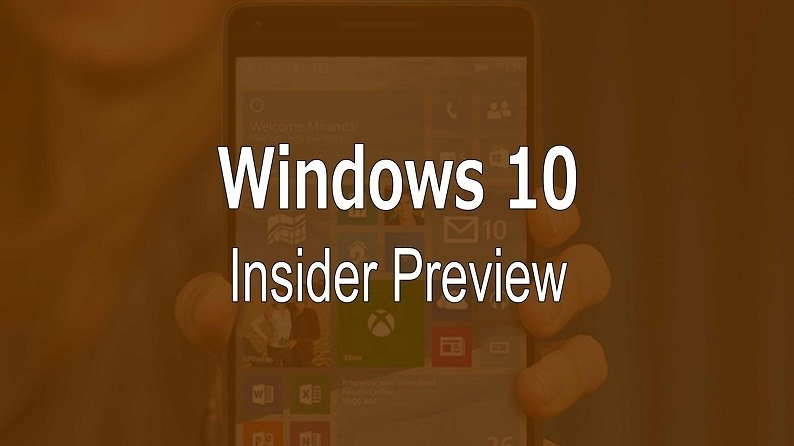 Windows 10 Mobile Preview